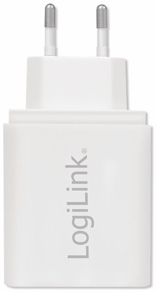 USB-Lader LOGILINK PA0211W, 4-fach, 4,8 A, weiss - Produktbild 3