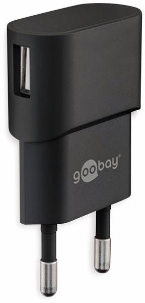 USB-Lader GOOBAY 44947, 1 A, 5 W, schwarz