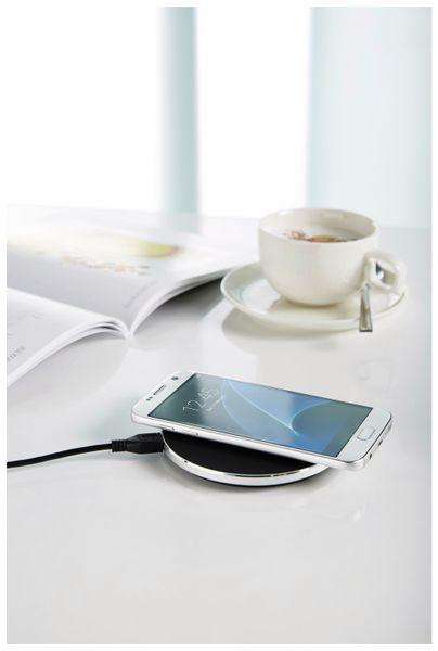 Kabelloses Ladegerät INTENSO 7410510 BA 1, 10 W, schwarz - Produktbild 4