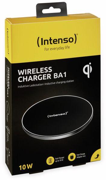 Kabelloses Ladegerät INTENSO 7410510 BA 1, 10 W, schwarz - Produktbild 10