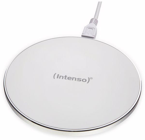 Kabelloses Ladegerät INTENSO 7410512 WA 1, 10 W, weiß - Produktbild 4