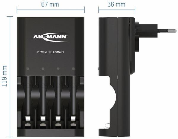 Ladegerät ANSMANN Powerline 4 Smart - Produktbild 3