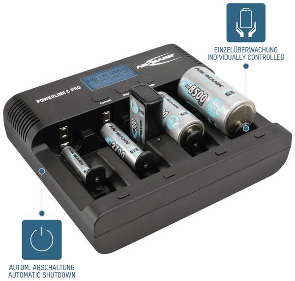 Ladegerät ANSMANN Powerline 5 Pro - Produktbild 2