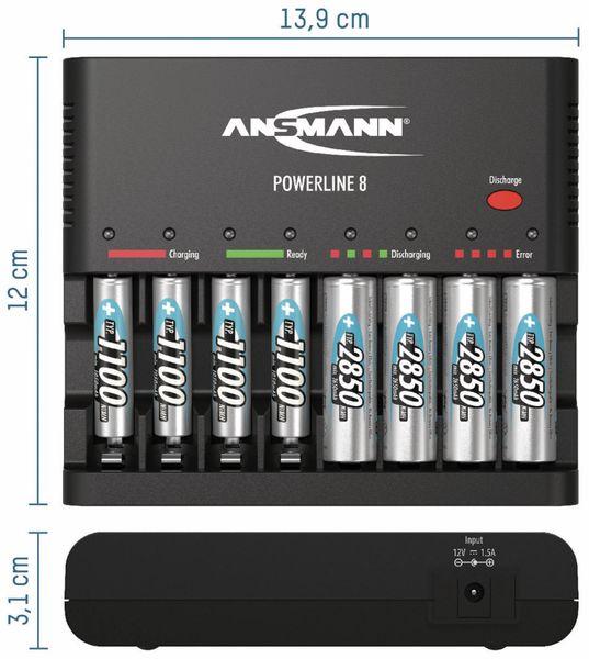 Ladegerät ANSMANN Powerline 8 - Produktbild 2