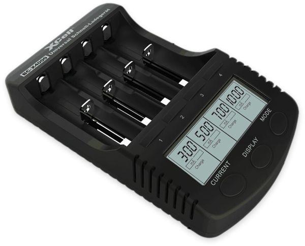 Ladegerät XCELL BC-X4000, mit LCD-Display