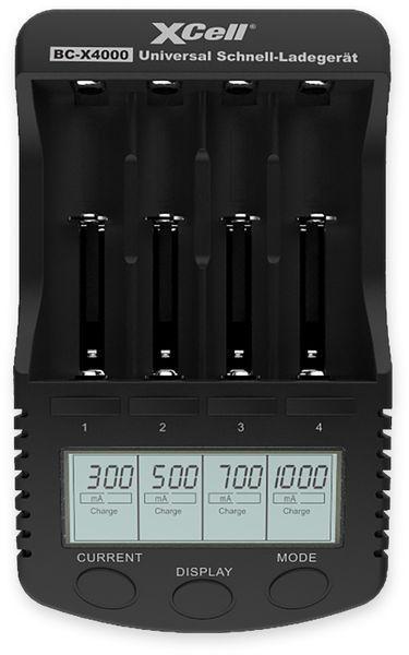 Ladegerät XCELL BC-X4000, mit LCD-Display - Produktbild 2