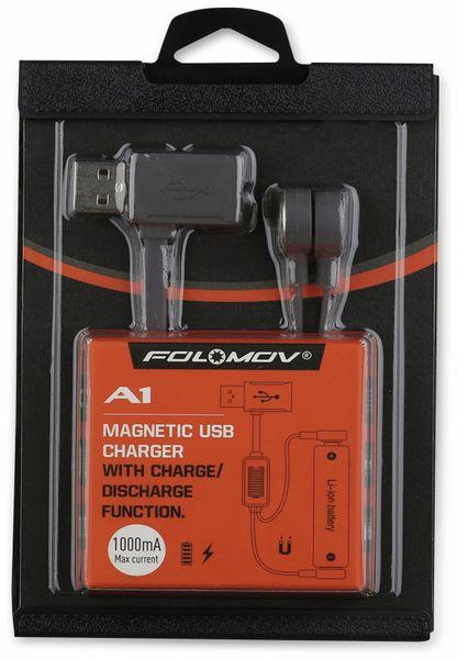 Magnetischer USB-Lader A 1, für Li-Ion Akkus - Produktbild 4