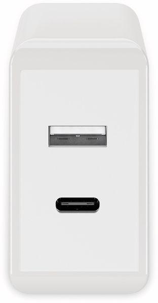 USB-Lader GOOBAY 44961, 2-fach, 2+3 A, 28 W, weiß - Produktbild 2