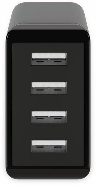 USB-Lader GOOBAY 44953, 4-fach, 3 A, 30 W, schwarz - Produktbild 2