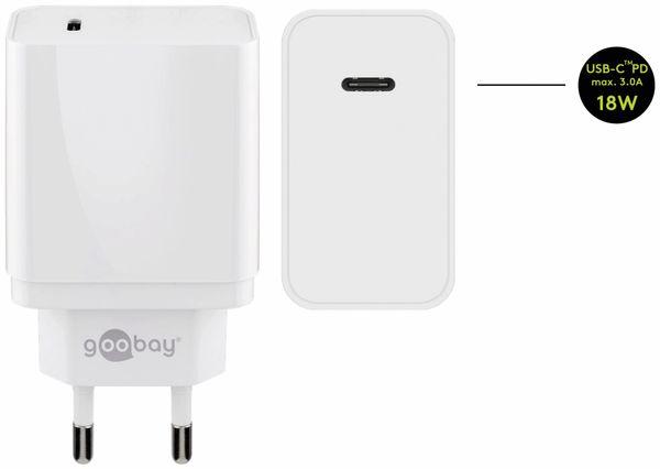 USB-Ladeset GOOBAY 44981, 2-teilig, 3 A, 18 W, weiß - Produktbild 4