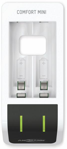 Ladegerät ANSMANN Comfort Mini, mit USB-Eingang - Produktbild 2