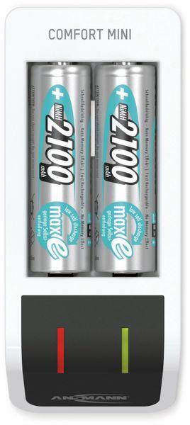 Ladegerät ANSMANN Comfort Mini + 2 AA, mit USB-Eingang - Produktbild 2