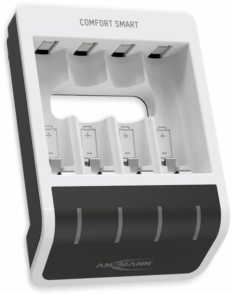 Ladegerät ANSMANN Comfort Smart, mit USB-Eingang - Produktbild 5
