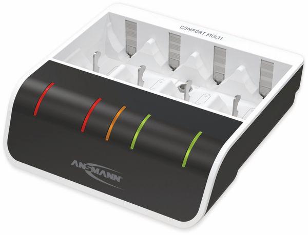 Ladegerät ANSMANN Comfort Multi, mit USB-Eingang