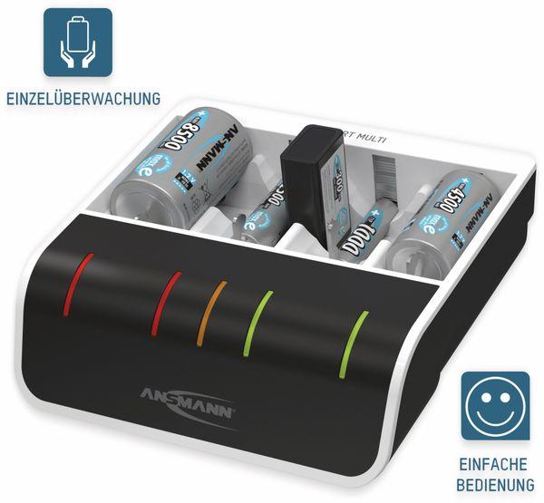Ladegerät ANSMANN Comfort Multi, mit USB-Eingang - Produktbild 4