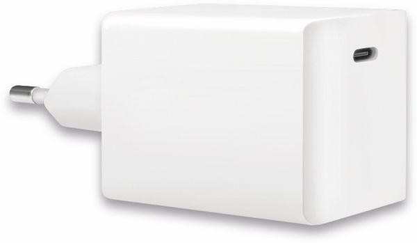 USB-Lader LOGILINK PA0229, 60 W, 1xUSB-C, GaN-Technologie, weiß