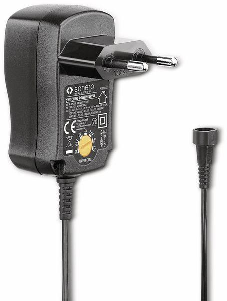 Universal-Steckernetzteil SONERO X-PS010, 300 mA, schwarz - Produktbild 3