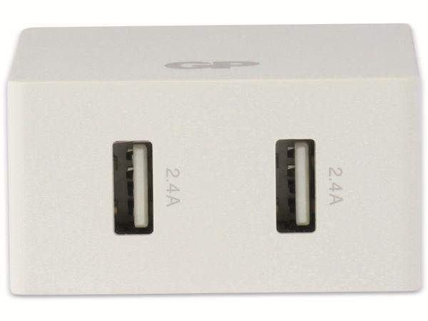 USB Ladegerät GP Batteries WA42 , 5V, 4800 mA, 2x USB - Produktbild 4