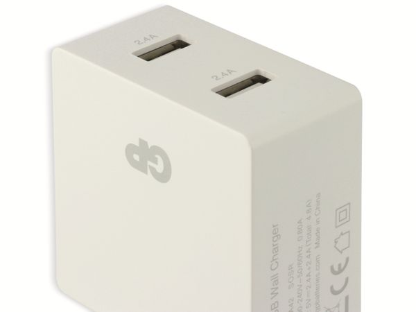 USB Ladegerät GP Batteries WA42 , 5V, 4800 mA, 2x USB - Produktbild 6