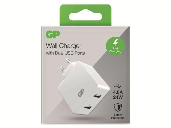 USB Ladegerät GP Batteries WA42 , 5V, 4800 mA, 2x USB - Produktbild 7
