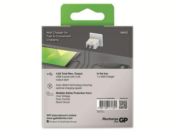 USB Ladegerät GP Batteries WA42 , 5V, 4800 mA, 2x USB - Produktbild 8