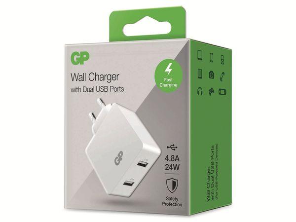 USB Ladegerät GP Batteries WA42 , 5V, 4800 mA, 2x USB - Produktbild 9
