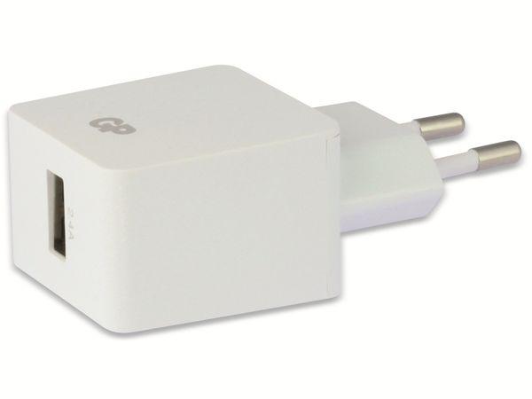 USB-Ladegerät GP Batteries WA23, 5V, 2400 mA, 1x USB