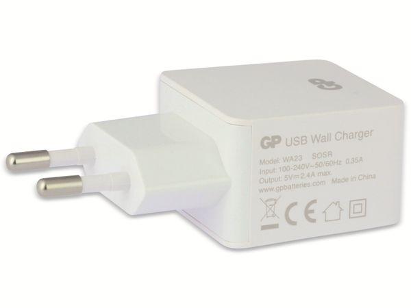USB-Ladegerät GP Batteries WA23, 5V, 2400 mA, 1x USB - Produktbild 2