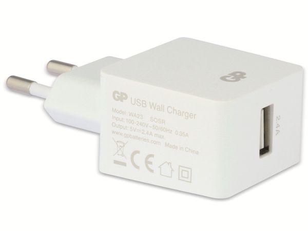 USB-Ladegerät GP Batteries WA23, 5V, 2400 mA, 1x USB - Produktbild 3