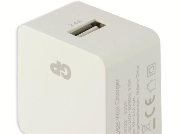 USB-Ladegerät GP Batteries WA23, 5V, 2400 mA, 1x USB - Produktbild 6