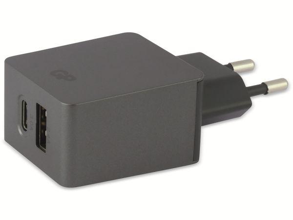 USB Ladegerät GP Batteries WA51, 5 V, 5400 mA, 2x USB