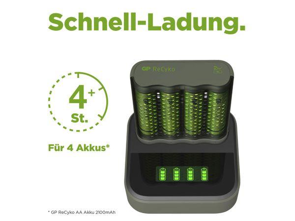 Schnell-Ladegerät GP M451 inkl. 4x NiMH AA Akkus 2600 mAh - Produktbild 8