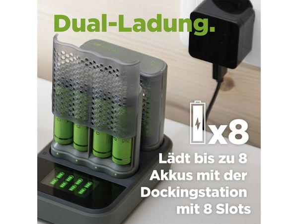 Schnell-Ladegerät GP M451 inkl. 4x NiMH AA Akkus 2600 mAh - Produktbild 12