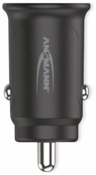 USB-Ladegerät KFZ ANSMANN CC212, 12 W, 5 V-, 2,4 A, 2-port, schwarz - Produktbild 2