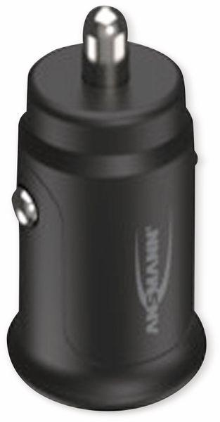 USB-Ladegerät KFZ ANSMANN CC212, 12 W, 5 V-, 2,4 A, 2-port, schwarz - Produktbild 5
