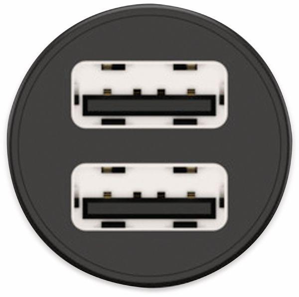USB-Ladegerät KFZ ANSMANN CC212, 12 W, 5 V-, 2,4 A, 2-port, schwarz - Produktbild 7