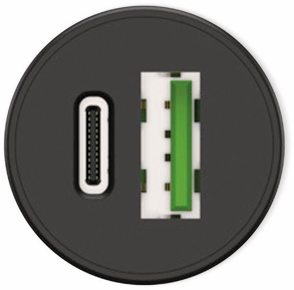 USB-Ladegerät KFZ ANSMANN CC230PD, USB-C (PD), 30 W, 5 V-, 3 A, QC 3.0, schwarz - Produktbild 7