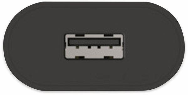 USB-Ladegerät ANSMANN HC105, 5 V, 1 A, schwarz - Produktbild 3