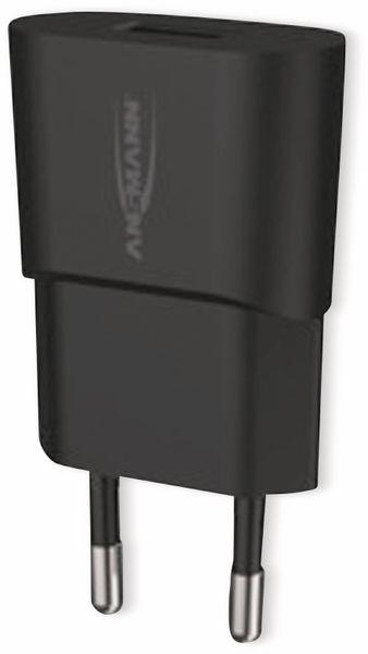 USB-Ladegerät ANSMANN HC105, 5 V, 1 A, schwarz - Produktbild 6