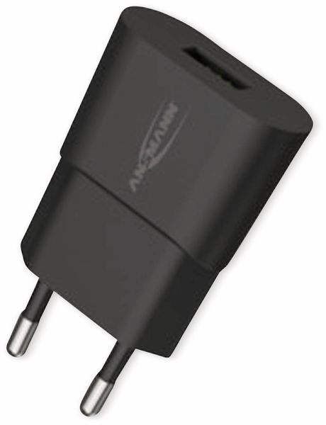 USB-Ladegerät ANSMANN HC105, 5 V, 1 A, schwarz - Produktbild 7