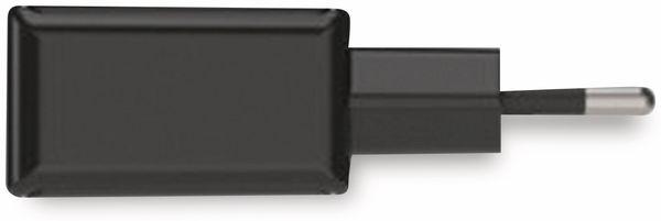 USB-Ladegerät ANSMANN HC212, 5 V, 2,4 A, 2-Port, schwarz - Produktbild 2