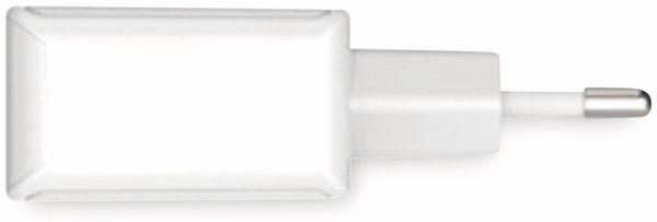 USB-Ladegerät ANSMANN HC212, 5 V, 2,4 A, 2-Port, weiß - Produktbild 2
