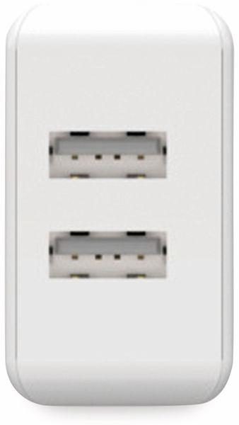 USB-Ladegerät ANSMANN HC212, 5 V, 2,4 A, 2-Port, weiß - Produktbild 3
