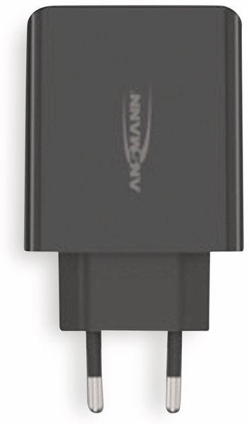 USB-Ladegerät ANSMANN HC430, 30 W, 5 V, 3 A, 4-Port, schwarz
