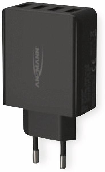 USB-Ladegerät ANSMANN HC430, 30 W, 5 V, 3 A, 4-Port, schwarz - Produktbild 6