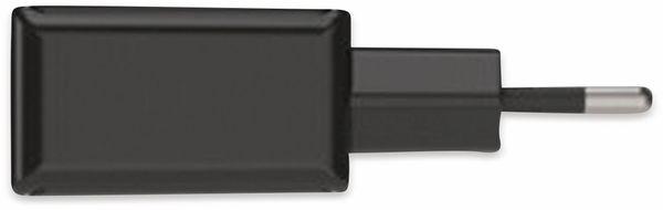 USB-Ladegerät ANSMANN HomeCharger HC218PD, 5 - 12V, 3000 mA, schwarz - Produktbild 2