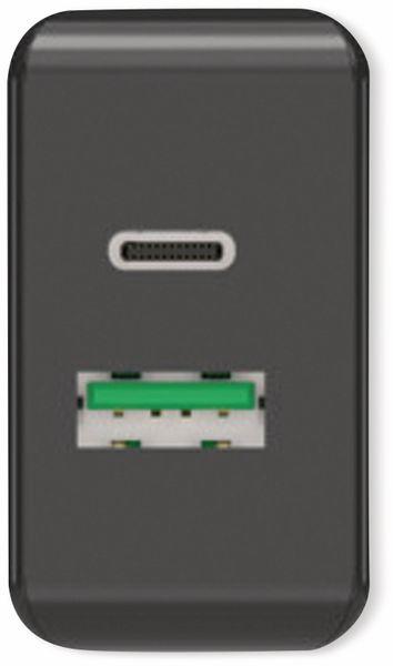 USB-Ladegerät ANSMANN HomeCharger HC218PD, 5 - 12V, 3000 mA, schwarz - Produktbild 3
