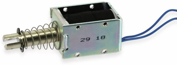 Elektromagnet, Hubmagnet, drückend, ITS-LS2924BD-12 - Produktbild 2