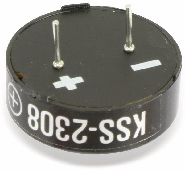 Magnetischer Schallwandler, Signalgeber KINGSTATE KSS-2308, 8 Ω, 0,1 W - Produktbild 2