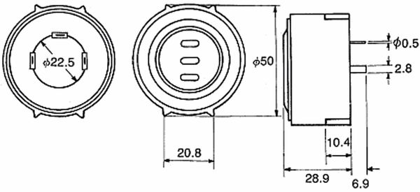 Piezo-Schallwandler, KINGSTATE, KPEG500 - Produktbild 3